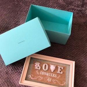Tiffany Box Only